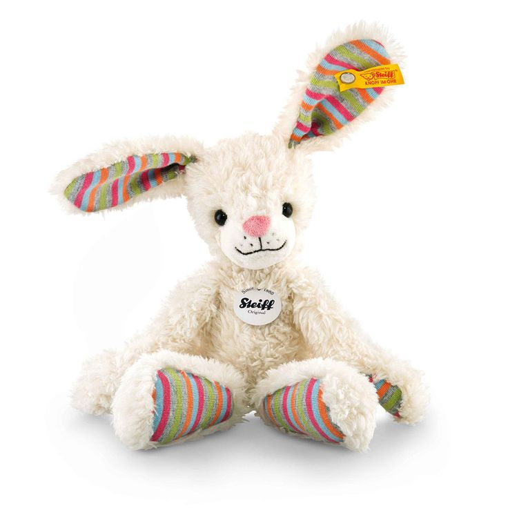 It's almost Easter! We hope you're having a wonderful time with your family. To make things even more fun for the little ones, check out the super fluffy and cute plush bunny by high-quality German brand Steiff!