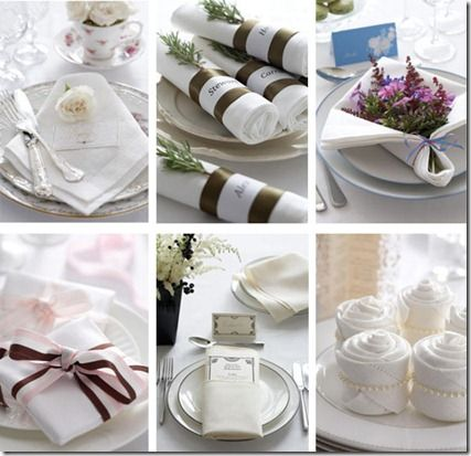 135 best how to fold napkin designs images on Pinterest | Napkin ...
