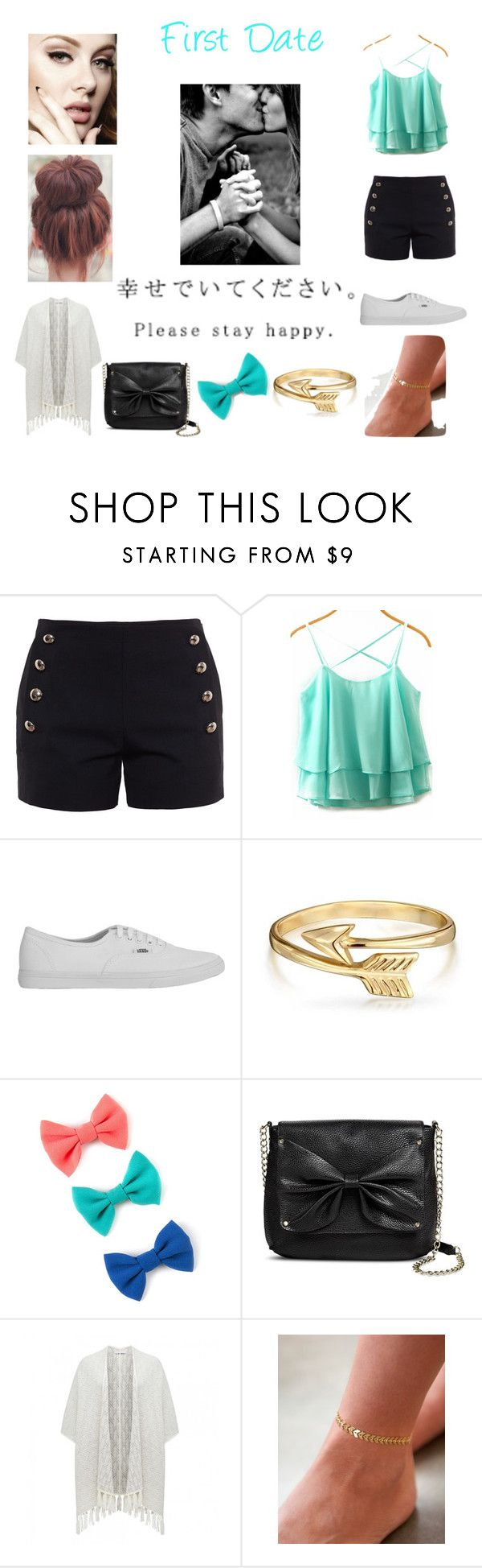 """""""First Date Outfit"""" by littledirectionor00 ❤ liked on Polyvore featuring Chloé, Vans, Bling Jewelry, Sam & Libby and Forever New"""