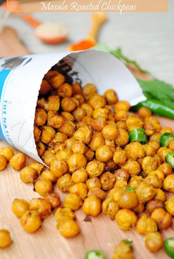 Masala-roasted Chickpeas