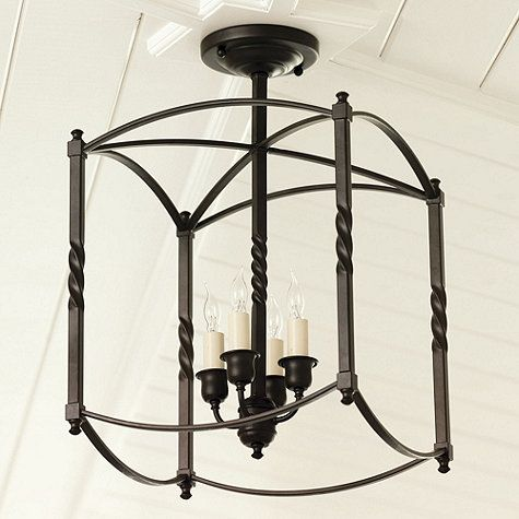 Small Carriage House Chandelier $89