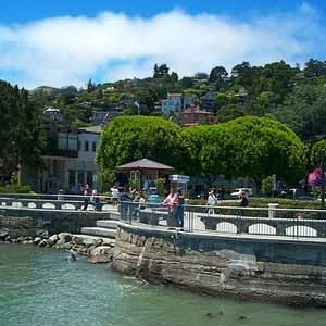 I'd ride to Sausilito for brunch... #ridecolorfullySpaces, San Francisco California, Favorite Places, Favorite Cities, Sausalito San Francisco, Image, Sausalitosan Francisco, San Francisco North California, Sausalito California