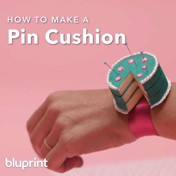 DIY: Cake Pin Cushion