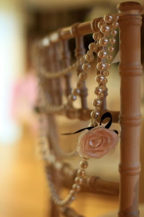 wedding chair decoration | 10 Creative Chair Decor Ideas | Intimate Weddings - Small Wedding Blog ...