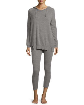 Cashmere+Hoodie+and+Ribbed+Legging+Set++by+Neiman+Marcus+Cashmere+Collection+at+Neiman+Marcus.
