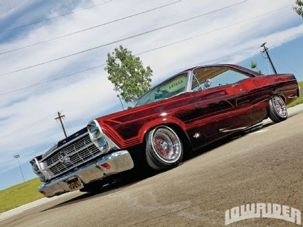 1966 Ford Fairlane 500 Bagged Lowriders, and 22 Inch