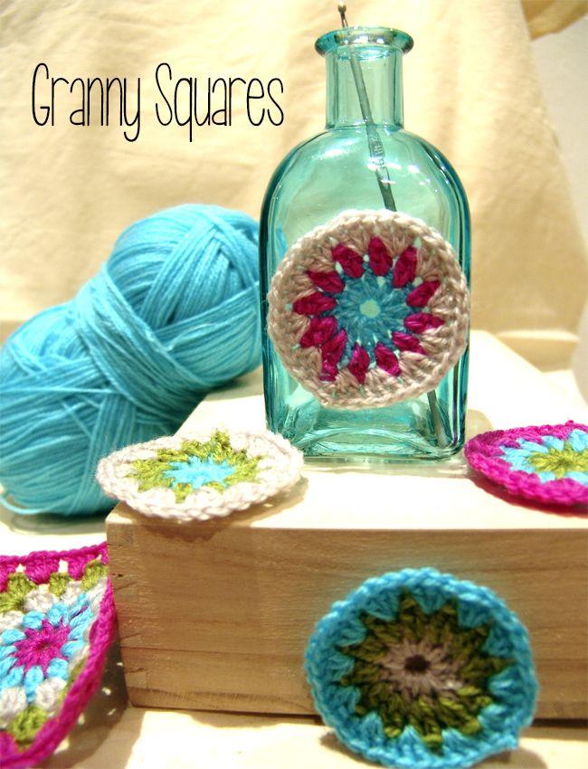 Les Antònies #granny #crochet