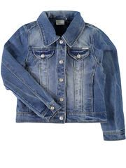 KIDS NITSTAR DENIMJAKKE, Light Blue Denim