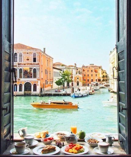 a pleasant day in Venice