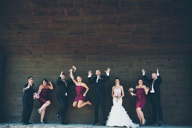 Hernder Estates Winery Wedding | Covered Bridge Bridal Party | Niagara Wedding Photographer | St. Catharines  Hamilton | Reed Photography | www.reedphoto.ca #niagara-wedding #hernder
