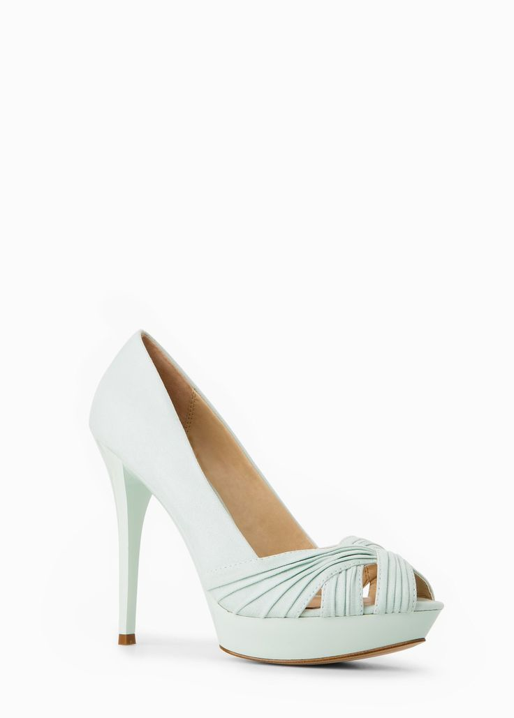 COUNTRY SPECIALS - Ruched detail peep-toes REF. 43067630 - TROPEZ-A C MKD 3,290