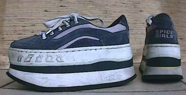Slam your body down! (Just count on spraining your ankle.) | The 22 Ugliest Examples Of '90s Footwear To Ever Meet Your Eyes