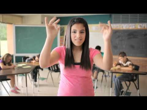"""remix:   """"we're going to be friends"""" by the white stripes, performed in american sign language by the deaf professional arts network. director: nicholas hill of lucky airlines. asl director: ronald dans"""