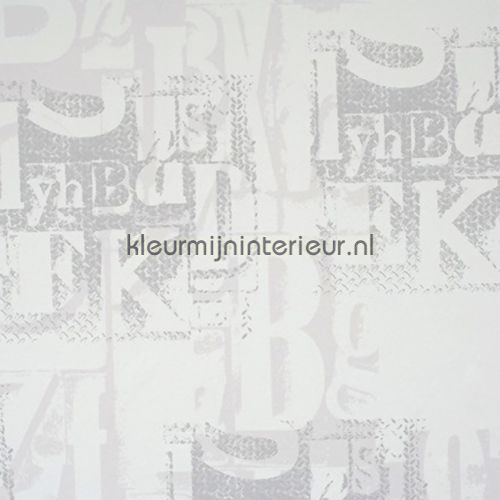 Camouflage letters behang 48903, Lef van BN Wallcoverings