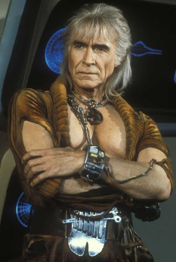 """Ricardo Montalban as Khan (Star Trek): """" Ah, Kirk, my old friend, do you know the Klingon proverb that tells us revenge is a dish that is best served cold? [pause]  It is very cold in space!"""""""