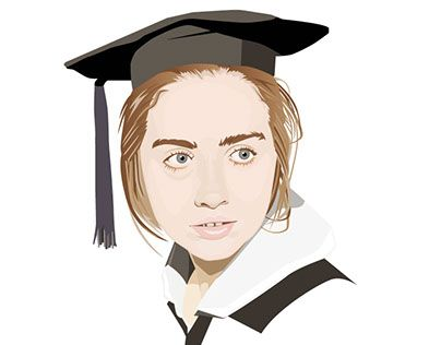 """Check out new work on my @Behance portfolio: """"Young Hillary Clinton"""" http://be.net/gallery/43563853/Young-Hillary-Clinton"""