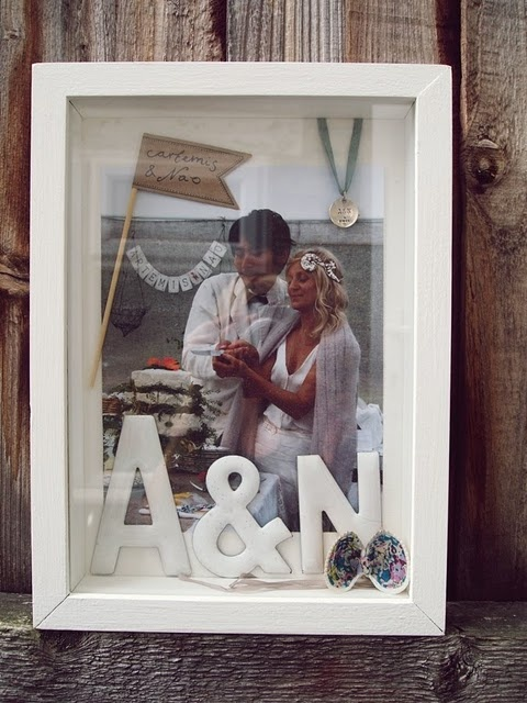 I love shadow boxes! I'm in the process of collecting enough things to make one for my boyfriend and I!