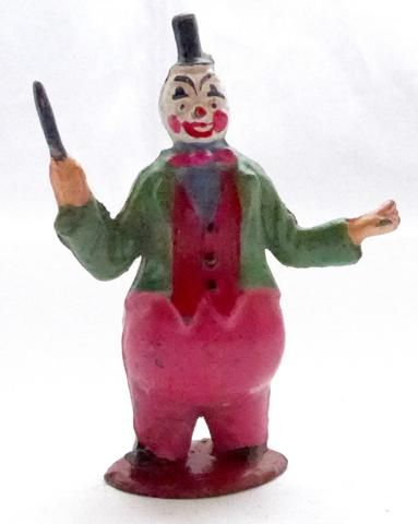 Timpo circus clown band, conductor