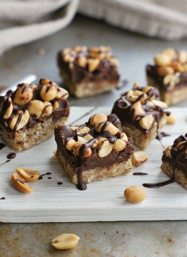 Chokladhavrerutor, glutenfria och utan tillsatt socker //Baka Sockerfritt