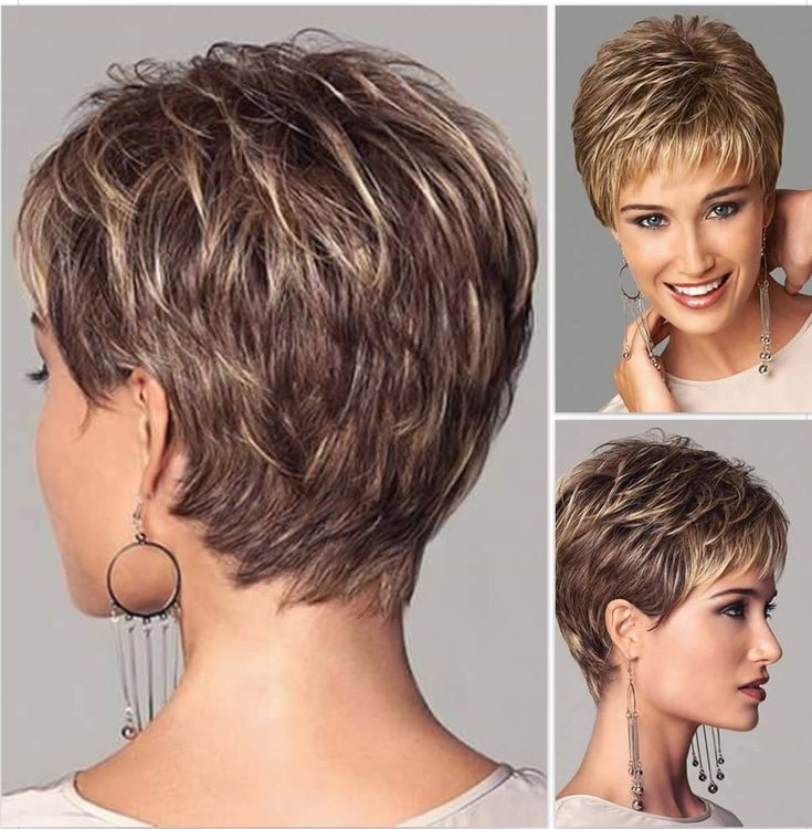 Recommended Short Haircuts For Women Over 50 With Round Face