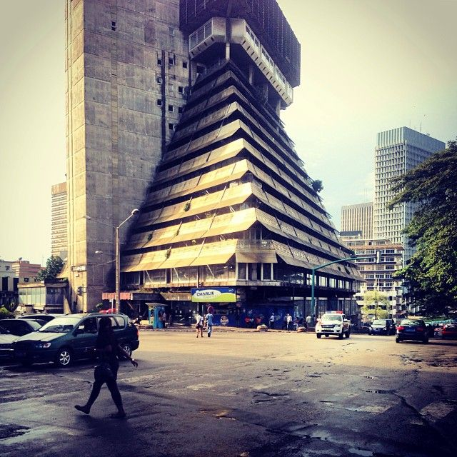 Pyramid building abidjan cote d 39 ivoire architecture pinterest the o 39 jays the pyramids - Cabinet d architecture abidjan ...