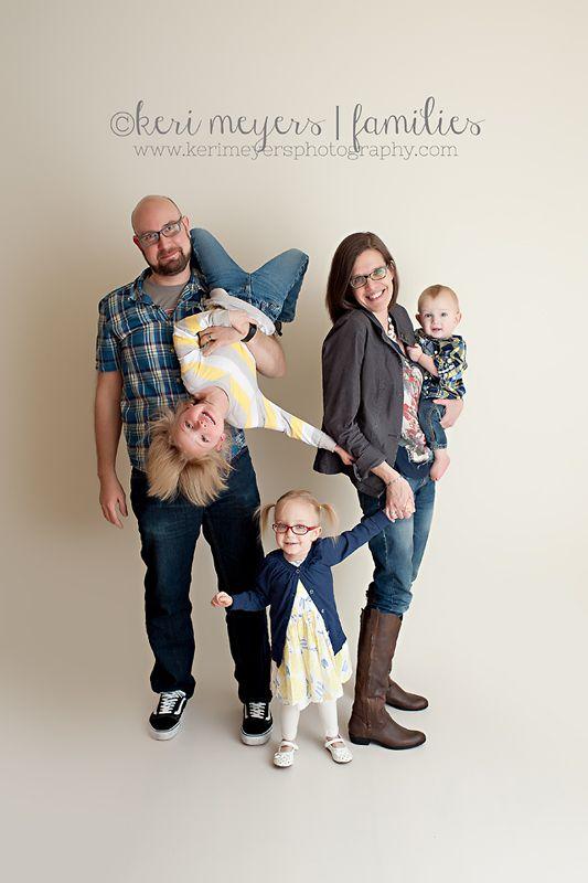 Fun Family Portrait Idea