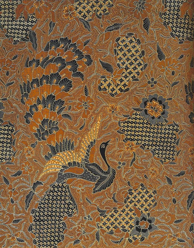 Batik Kains detailed Batik outlined in prada goldwork