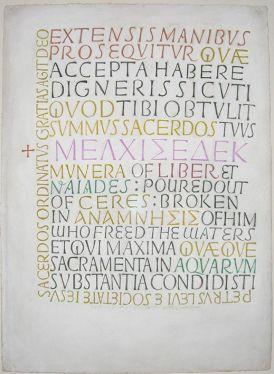 David Jones - Artist & Poet - Inscriptions
