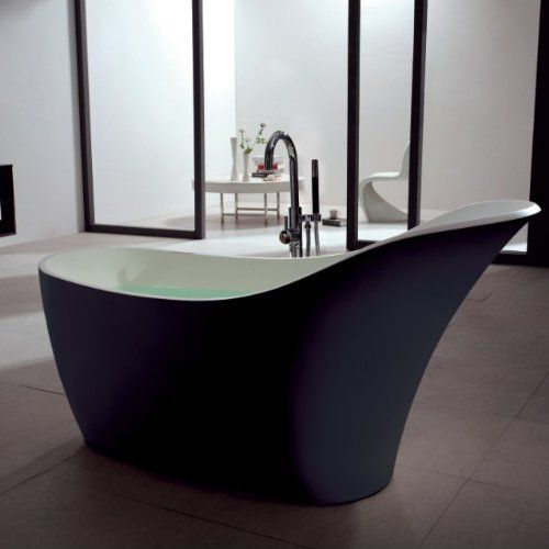 Free Standing Solid Surface Bathtub 67 X 30 Matte Black SW-137B ADM http://www.amazon.com/dp/B00E3H01ZA/ref=cm_sw_r_pi_dp_M1SMvb0AYPY6X