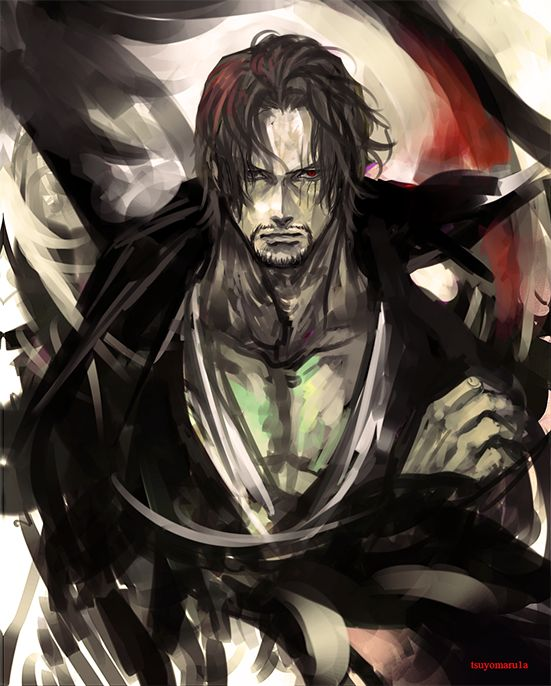 One Piece   Shanks (@tsuyomaru1a)