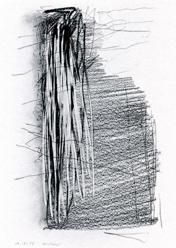 Gerhard Richter. 19.10.1988 1988 29.7 cm x 21 cm Graphite on paper