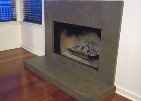 37 best images about bar tops fireplaces on pinterest for Concrete mantels and hearths