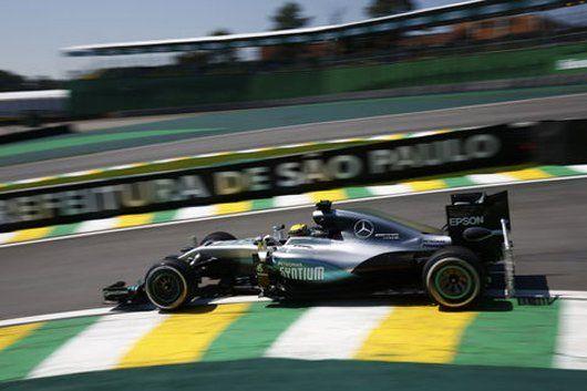 F1ブラジルGP フリー走行1回目:ルイス・ハミルトンがトップタイム  [F1 / Formula 1]