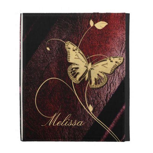 Dear Butterfly iPad Case