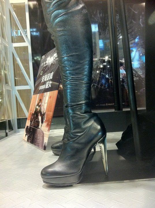 Dark Knight Rises Catwoman Costume (Boots)