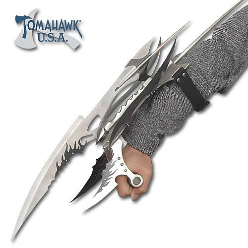 The Viscerator Ninja Hand Claw | Blades And Weapons ...