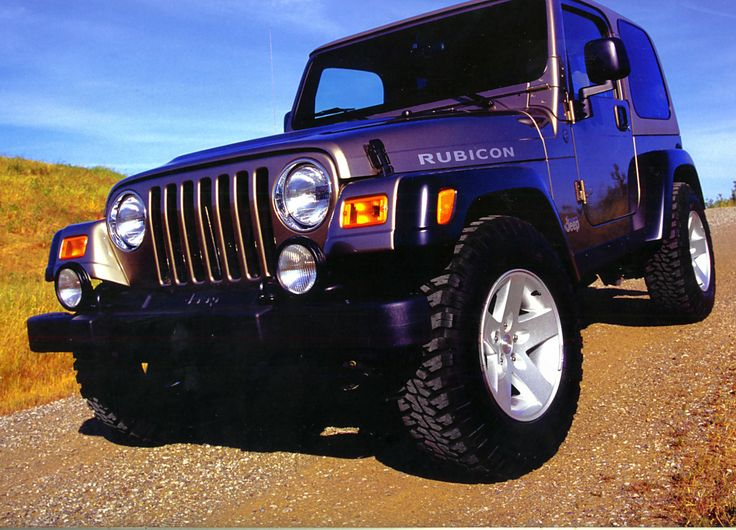 Purple Jeep Wrangler! I would totally go for purple...looks pretty different and I love to stand out! :p