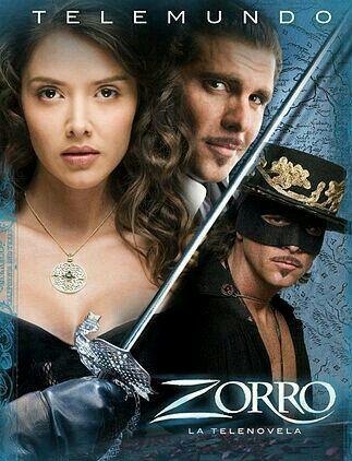 ZORRO  (telenovela) (protagonistas) MARLENE FAVELA CHRISTIAN MEIER (2007).