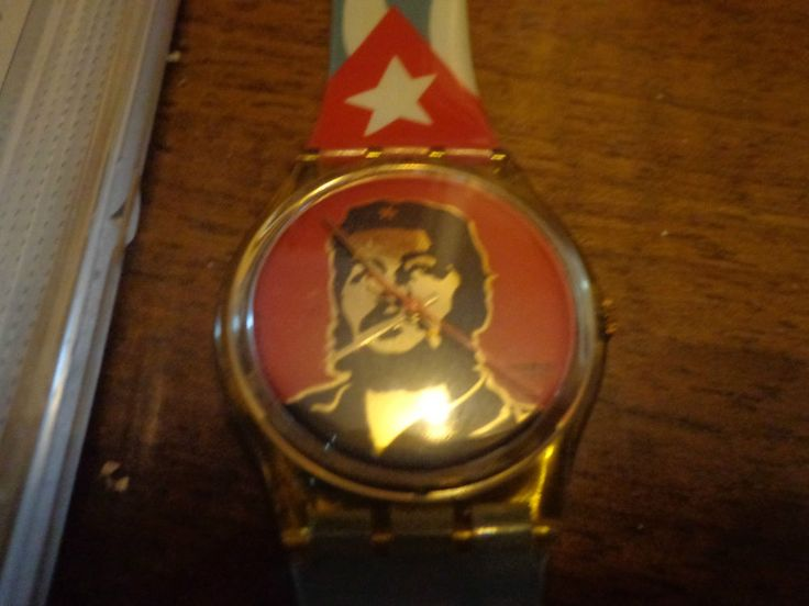 VINTAGE SWATCH CHE GUEVARA - WATCH UNISEX Made in Swisse