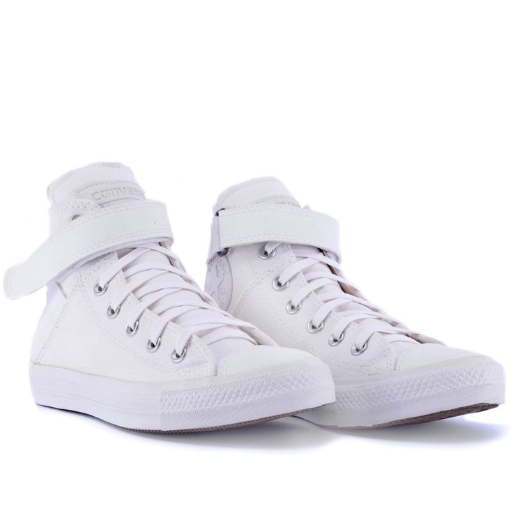 Tênis Converse Chuck Taylor All Star Brea Branco Branco CT04600002