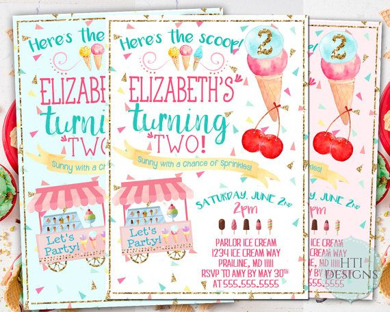 12 best Ice cream Party invitations and decor images on Pinterest