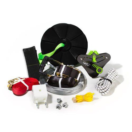 Alien Flier X2-R200 Backyard Zip Line Kit | Zip line kits ...