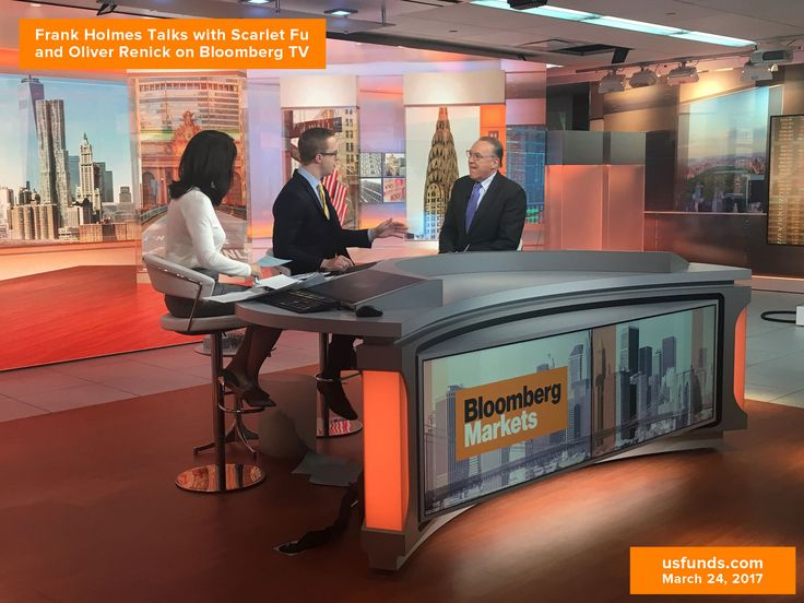 Frank Holmes Talks with Scarlet Fu and Oliver Renick on Bloomberg TV
