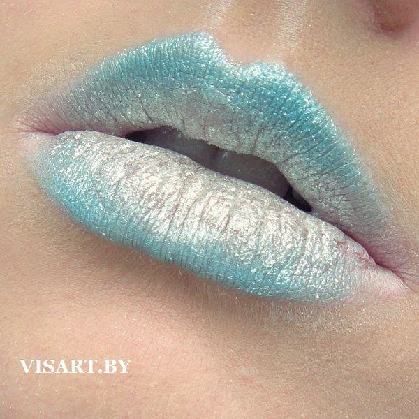 Lip Art. Креативный макияж губ. Рассыпчатые тени блестки NYX Roll on Shimmer, Yves Rocher розовый карандаш #lips #makeuplips #inspiration #inspire #flawless #makeup #metalik #lipart #makeupaddict #makeupideas #makeupartist #makeupmafia #creative #makeuplover #instamakeup #mua #bbloggers #губы #макияжгуб #макияж #макияжминск #визажистминск #бьютиблоггер #инспирация #vscominsk #креатив www.visart.by
