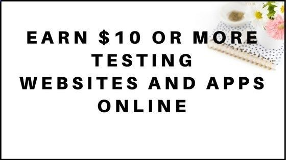 Are you looking for ways to get paid to test websites and apps online? In this post, you will learn of 14 websites that pay $10 or more to test websites and
