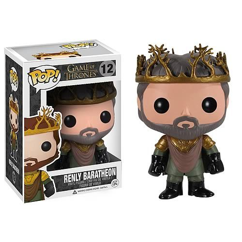 Want! Renly Baratheon
