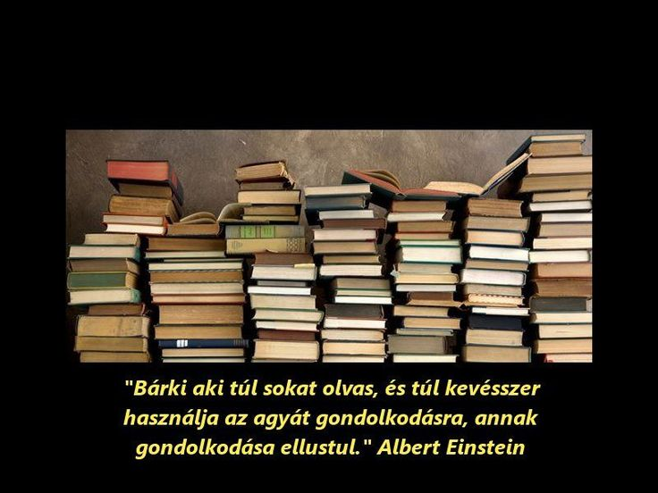 Albert Einstein szavai.