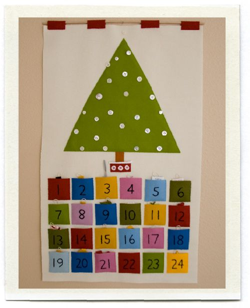 Advent calendar - I'm going to make it!!!