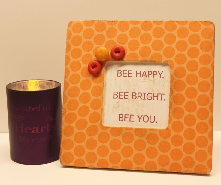 Orange Picture Frame, Polka Dot Decor, Retro Fabric, Baby Girl Nursery, Orange Bedroom, 60s Birthday, Grandma Gift, Wedding Gift by FeedleBeesCreations on Etsy https://www.etsy.com/listing/231253534/orange-picture-frame-polka-dot-decor