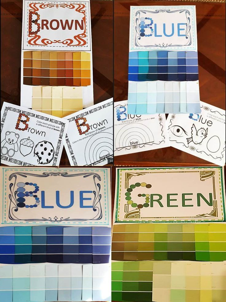 """The purpose of this resource is to increase the learner's awareness of the different ways a color can look. Students will learn the basic color words and realize that each color has many variations, depending on its tint, hue, or shade. For instance, the blue of the sky and the blue of the deep ocean aren't exactly alike, but we say they are both blue. """"Blue"""" actually means many different kinds of blue."""